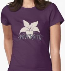 Adversity bloom Womens Fitted T-Shirt