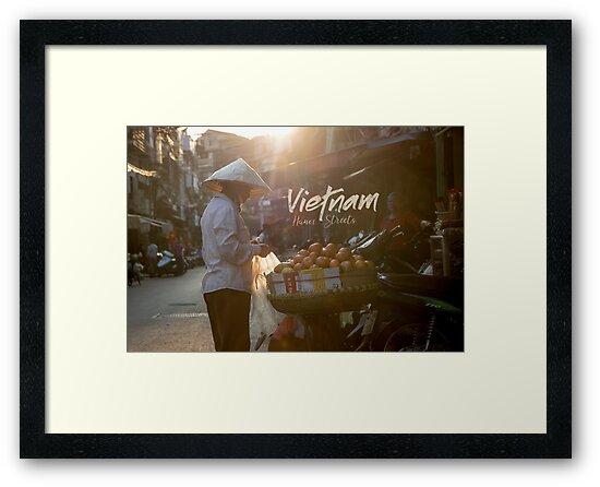 «Mercado callejero de Vietnam» de Gabriel Quintana  || Worldplaces ||