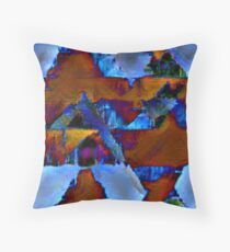 AQUA PLUS Throw Pillow