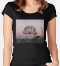 The Day the Sky was so Beautiful I Wanted to Cry  Women's Fitted Scoop T-Shirt