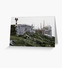 Below Zero Greeting Card