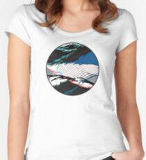 ※ Laguna Waves ※ Women's Fitted Scoop T-Shirt