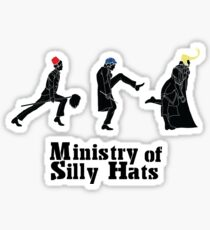Ministry of Silly Hats Sticker