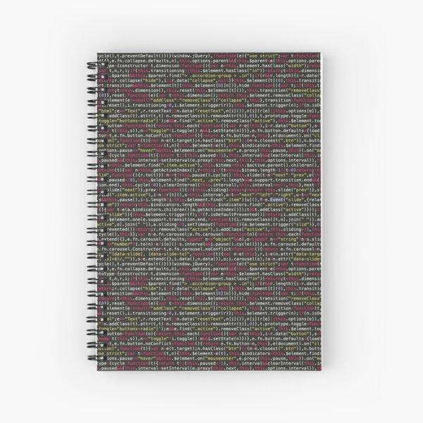 Codificado Cuaderno de espiral