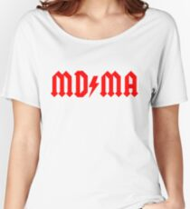 MD/MA (Fashion Criminal) Women's Relaxed Fit T-Shirt