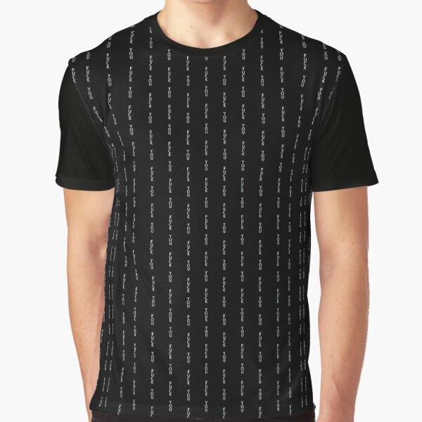 Va te faire foutre T-shirt T-shirt graphique