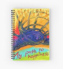My Path to Happiness Spiralblock
