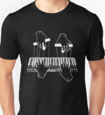 Puppet Pianist White T-Shirt