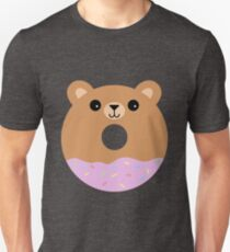 Cute Bear Donut T-Shirt