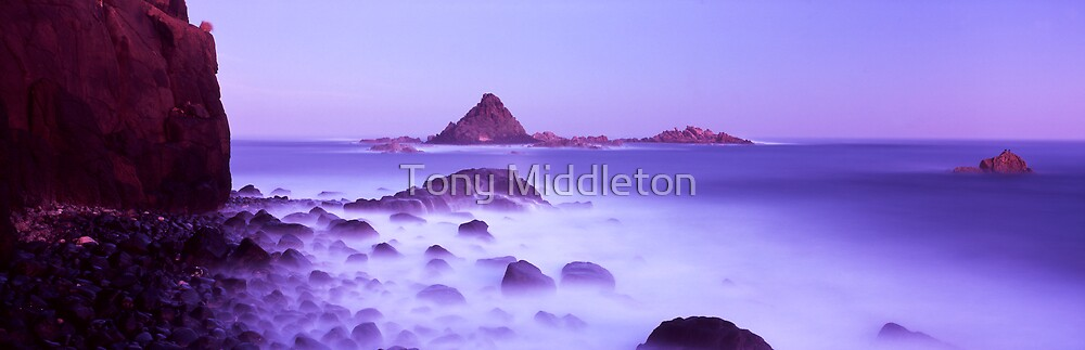 Pyramid rock by Tony Middleton