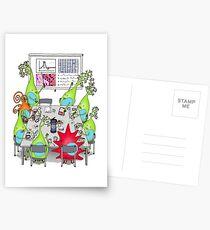Brain Cell Lab Treffen Postkarten
