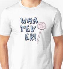 Camiseta unisex ¡Lo que sea! Cita y Fluffy Pen