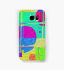 Re-Created Building Blocks I by Robert S. Lee Samsung Galaxy Case/Skin