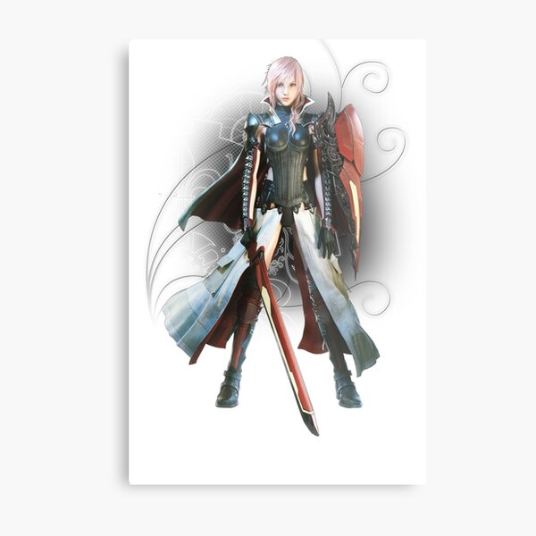 Final Fantasy Lightning Returns - Lightning (Claire Farron) Metal Print