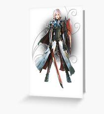 Final Fantasy Lightning Returns - Lightning (Claire Farron) Greeting Card