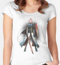 Final Fantasy Lightning Returns - Lightning (Claire Farron) Women's Fitted Scoop T-Shirt