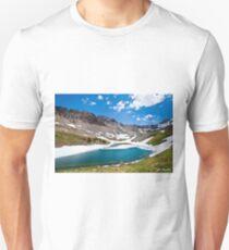 Middle Blue Lake Unisex T-Shirt