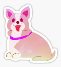 Badly Drawn Pups: Pastel Pup Sticker