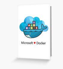 Docker + Microsoft Azure Greeting Card