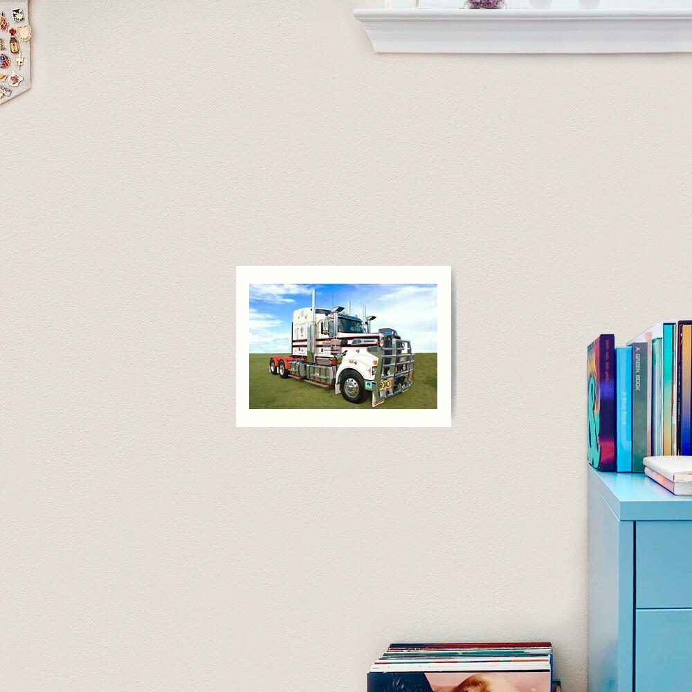 The Mighty Kenworth T904. Art Print