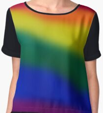 Rainbow blur. Women's Chiffon Top