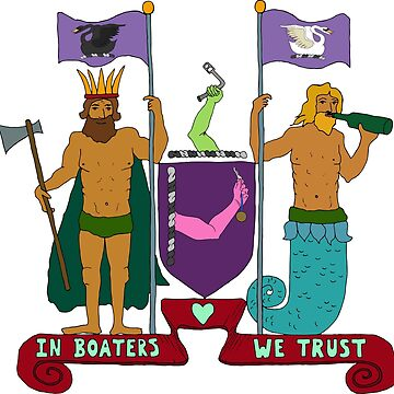 In Boaters We Trust by cosmicesoteric