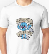 Mr meeseeks shirt - existence is pain - Rick and Morty Shirt - Rick Morty Shirt  T-Shirt