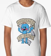 Mr meeseeks shirt - existence is pain - Rick and Morty Shirt - Rick Morty Shirt  Long T-Shirt