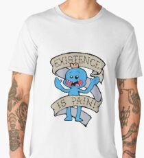 Mr meeseeks shirt - existence is pain - Rick and Morty Shirt - Rick Morty Shirt  Men's Premium T-Shirt
