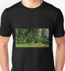 Cow Near Pontebba Unisex T-Shirt
