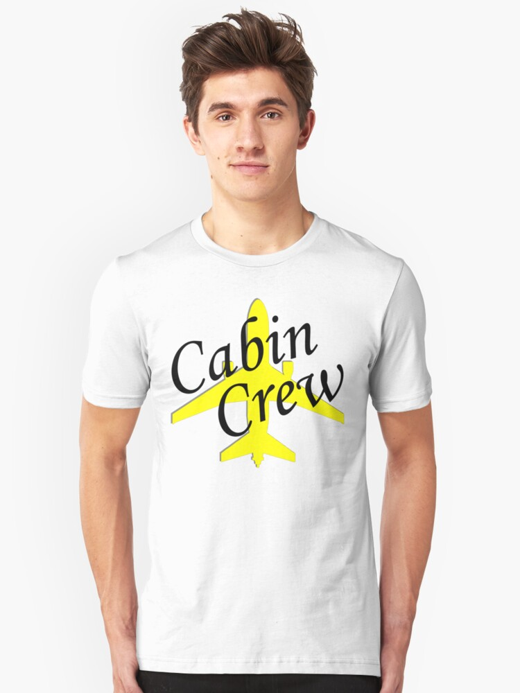 Cabin Crew Unisex T-Shirt Front