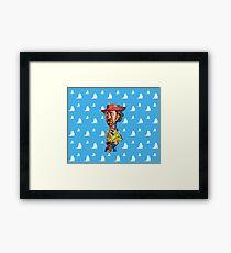 Cowboy up Framed Print