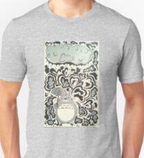 My Neighbor Totoro Rain Design T-Shirt