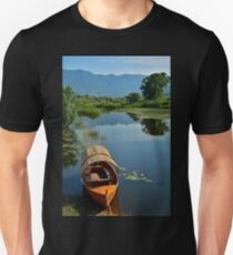 Boat at Virpazar Unisex T-Shirt