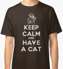 Keep Calm Alf White Classic T-Shirt