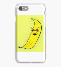 Angry Banana iPhone Case/Skin