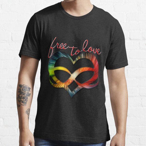 Free to Love - Polyamory Symbol Essential T-Shirt