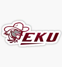 EKU - Eastern Kentucky University Watercolor  Sticker