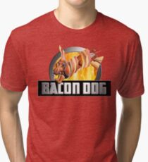 Bacon Dog - Just For Fun Tri-blend T-Shirt