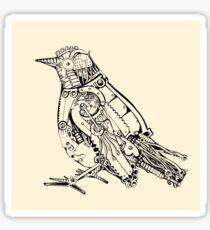Mechanical Bird Sticker