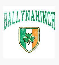 Ballynahinch, Ireland with Shamrock Photographic Print