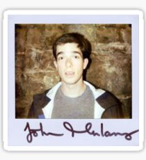 John Mulaney Polaroid Sticker