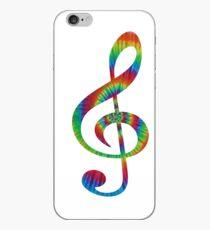 Tie-Dye Treble iPhone Case