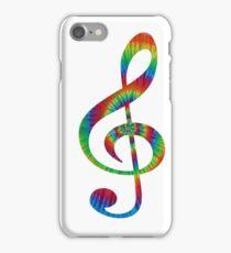 Tie-Dye Treble iPhone Case/Skin