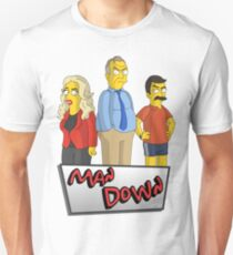 Greg Davies - Man Down - Simpsons Style! Unisex T-Shirt