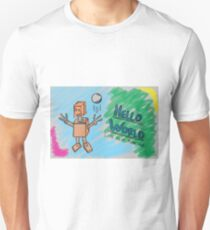 Hello World - Lets Play Together Unisex T-Shirt