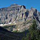 Little Chief Mountain - Glacier National Park, MT by Rebel Kreklow