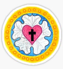 Luther's Rose Sticker