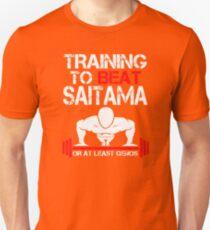 TRAINING TO BEAT SAITAMA OR AT LEAST GENOS with Symbol T-Shirt