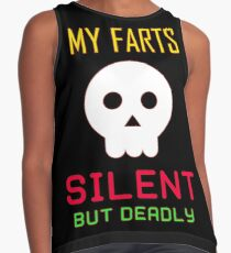 My Farts - Silent But Deadly Contrast Tank